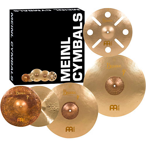 Meinl Byzance Vintage Series Benny Greb Sand Cymbal Set with Free 16 inch Trash Crash thumbnail