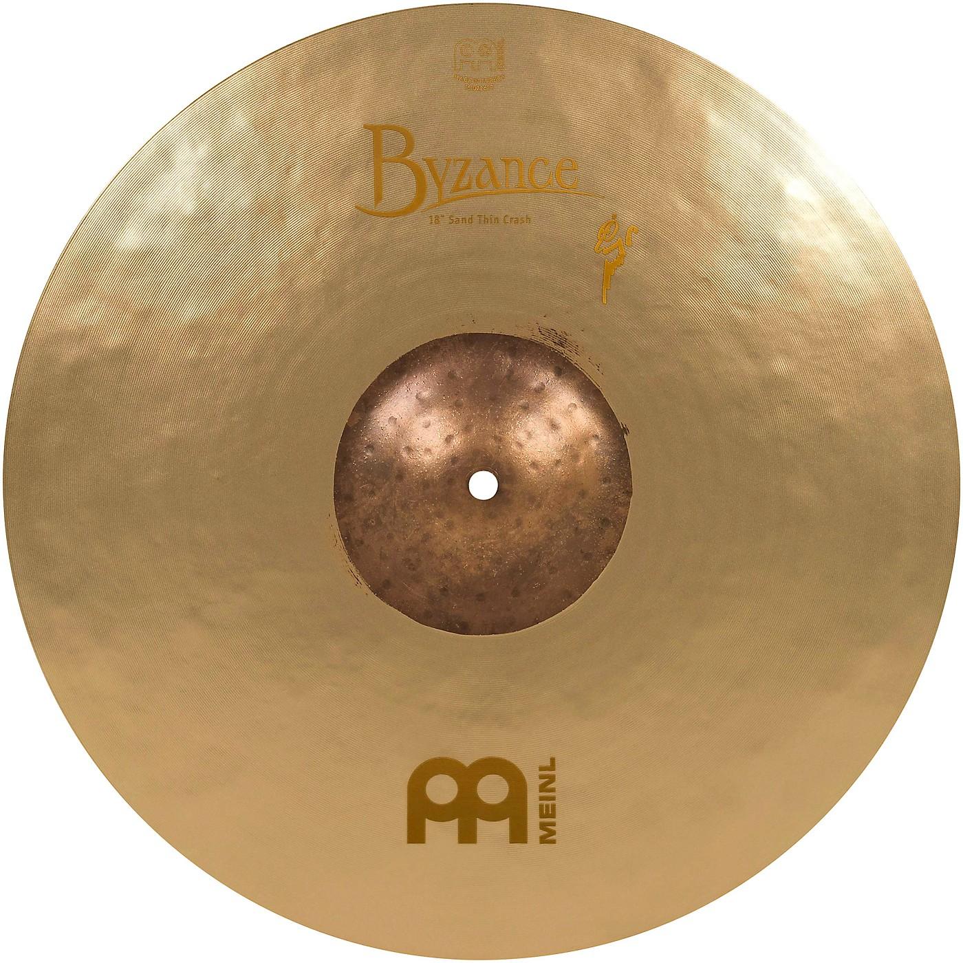 Meinl Byzance Vintage Series Benny Greb Sand Thin Crash Cymbal thumbnail