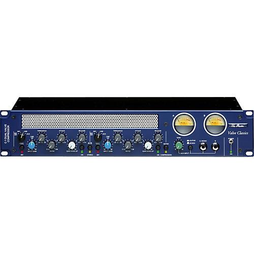 TL Audio C-1 2-Channel Valve Tube Compressor-thumbnail