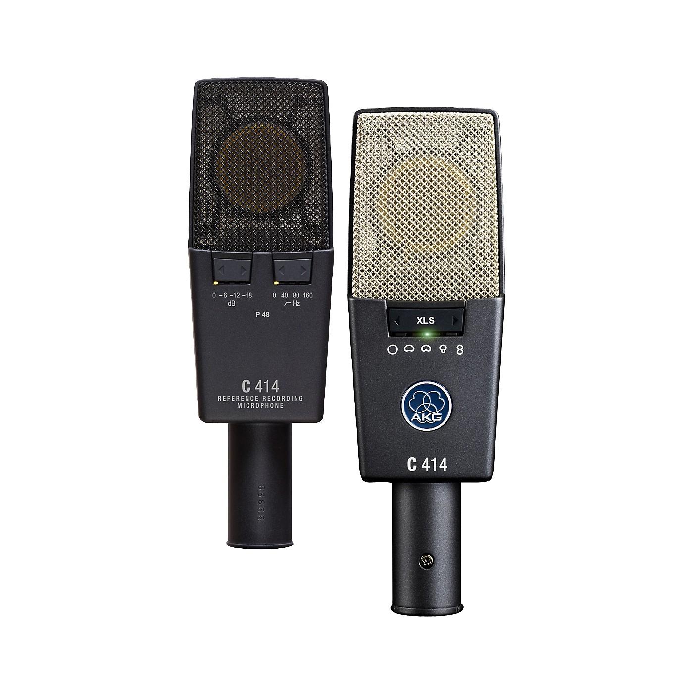 AKG C 414 XLS/ST Matched Pair thumbnail
