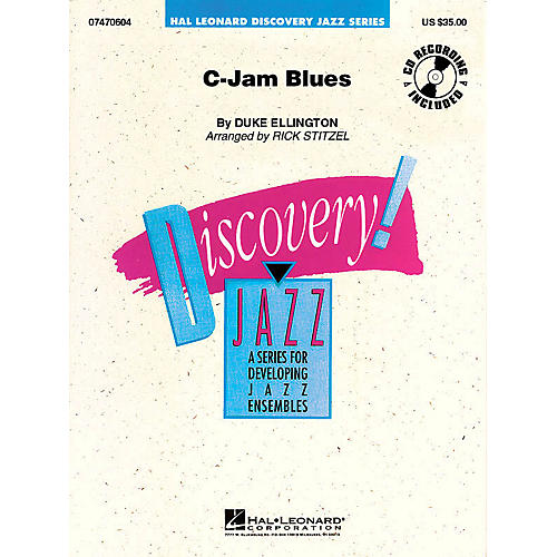 Hal Leonard C-Jam Blues Jazz Band Level 1.5 Arranged by Rick Stitzel thumbnail