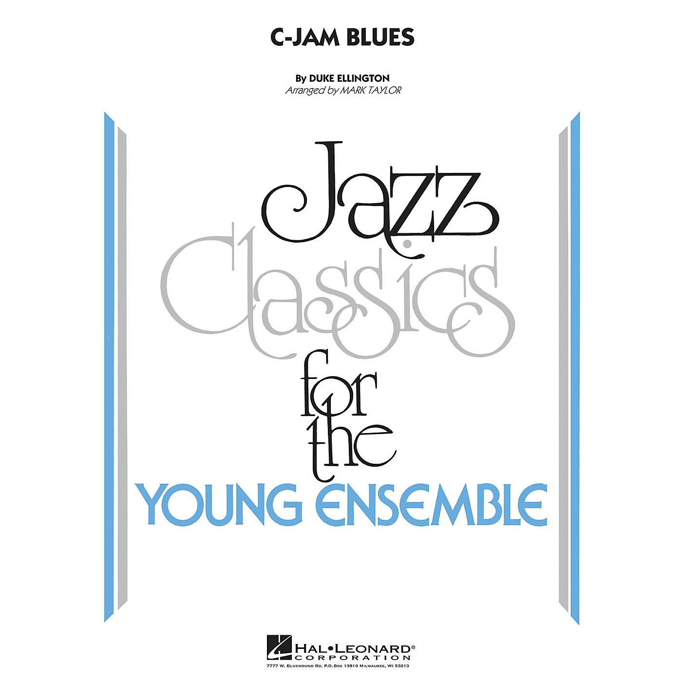 Hal Leonard C-Jam Blues Jazz Band Level 3 Arranged by Mark Taylor thumbnail