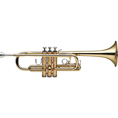 Stagg C Trumpet with ABS hard case thumbnail