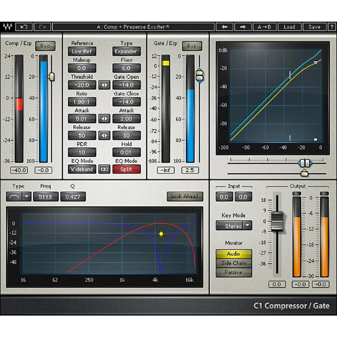 Waves C1 Compressor Native/TDM/SG Software Download thumbnail