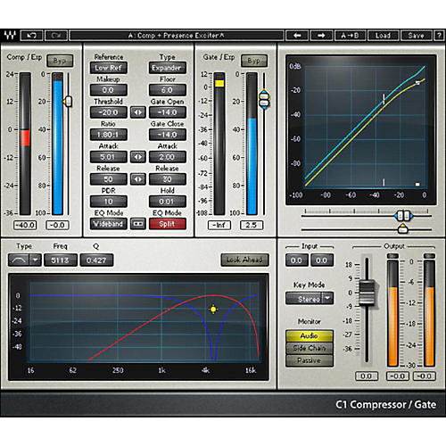 Waves C1 Compressor Native/TDM/SG Software Download thumbnail