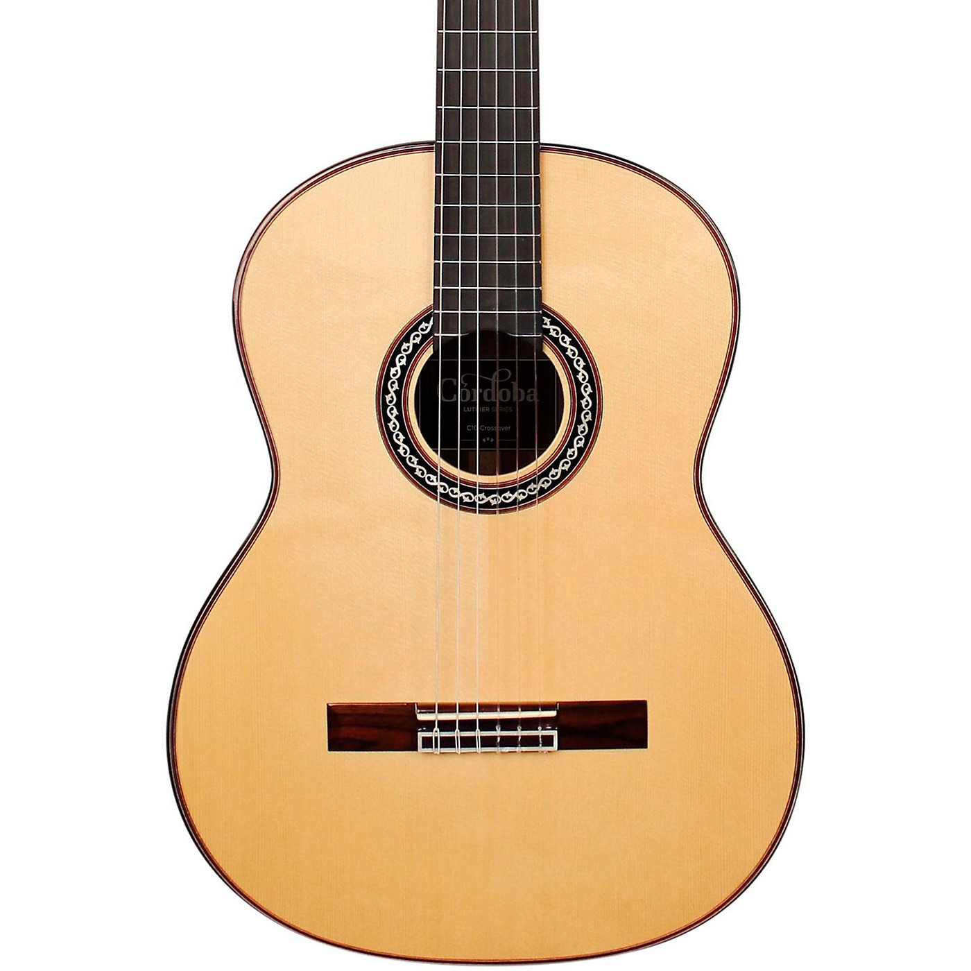 Cordoba C10 Crossover Nylon String Acoustic Guitar thumbnail