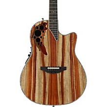 Ovation C2078AXP-SP Exotic Wood Elite Plus Striped Padauk Acoustic-Electric Guitar