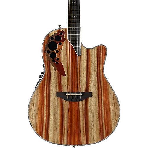 Ovation C2078AXP-SP Exotic Wood Elite Plus Striped Padauk Acoustic-Electric Guitar thumbnail