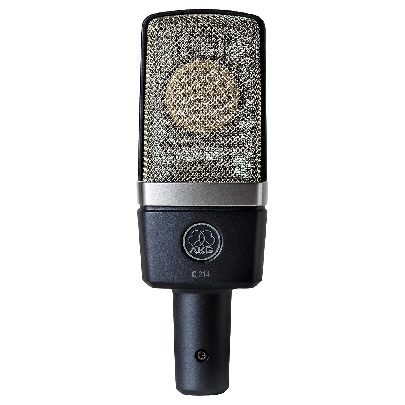 AKG C214 Large Diaphragm Condenser Microphone thumbnail