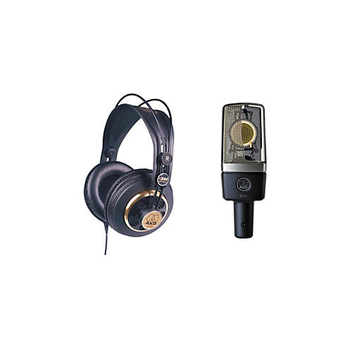 AKG C214 and K240 Mic and Headphone Package thumbnail