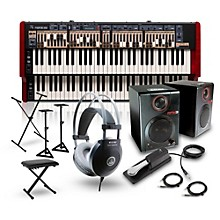 Nord C2D Combo Organ with RPM3 Monitors, Headphones, Bench, Stand and Sustain Pedal