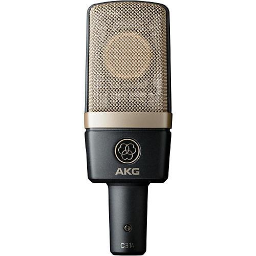 AKG C314 Professional Multi-Pattern Condenser Microphone thumbnail