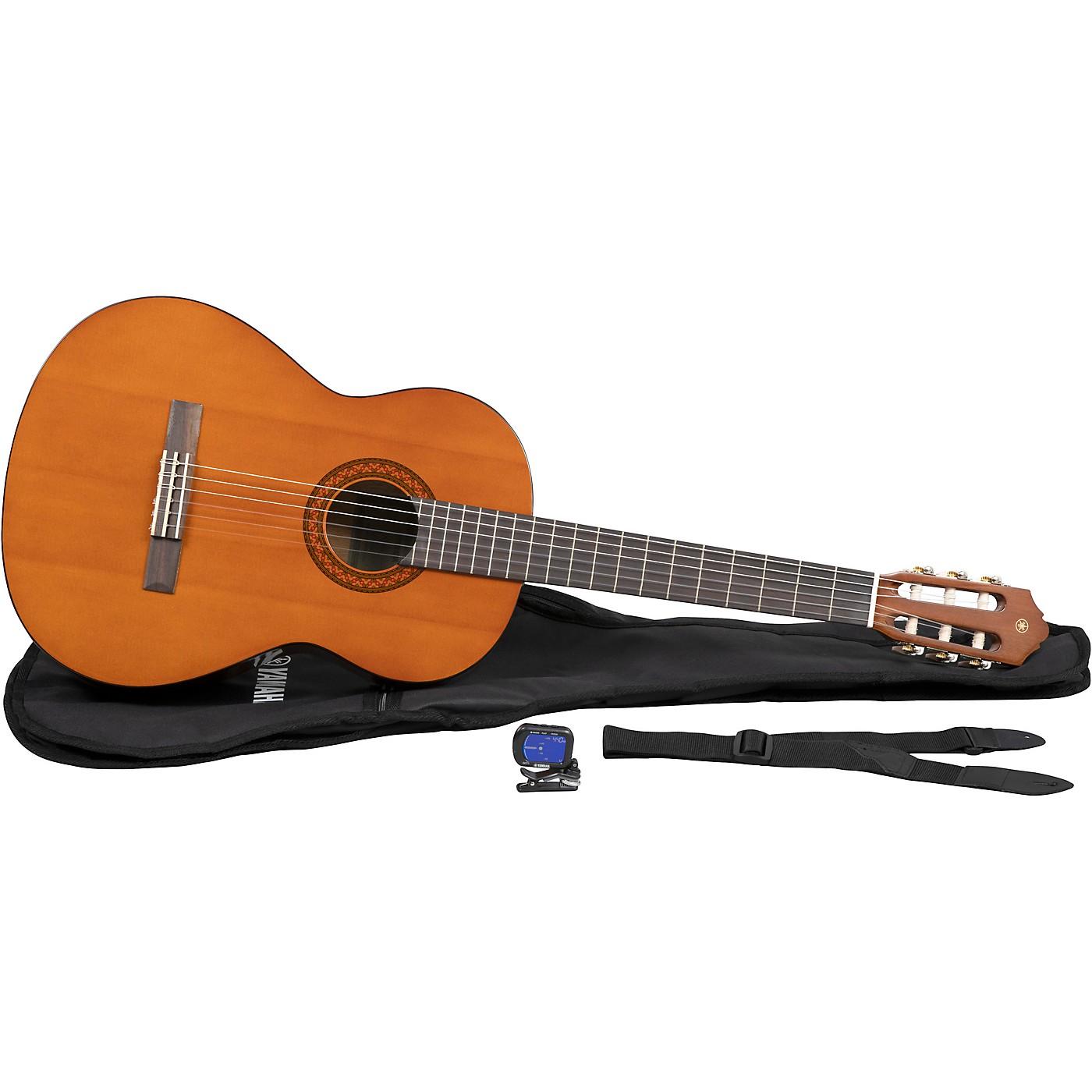 Yamaha C40 Gigmaker Classical Acoustic Guitar Pack (Natural) thumbnail