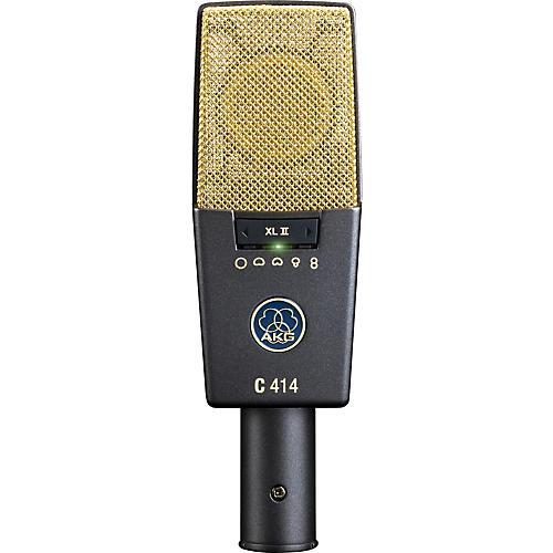 AKG C414 XL II Reference Multi-Pattern Condenser Microphone-thumbnail