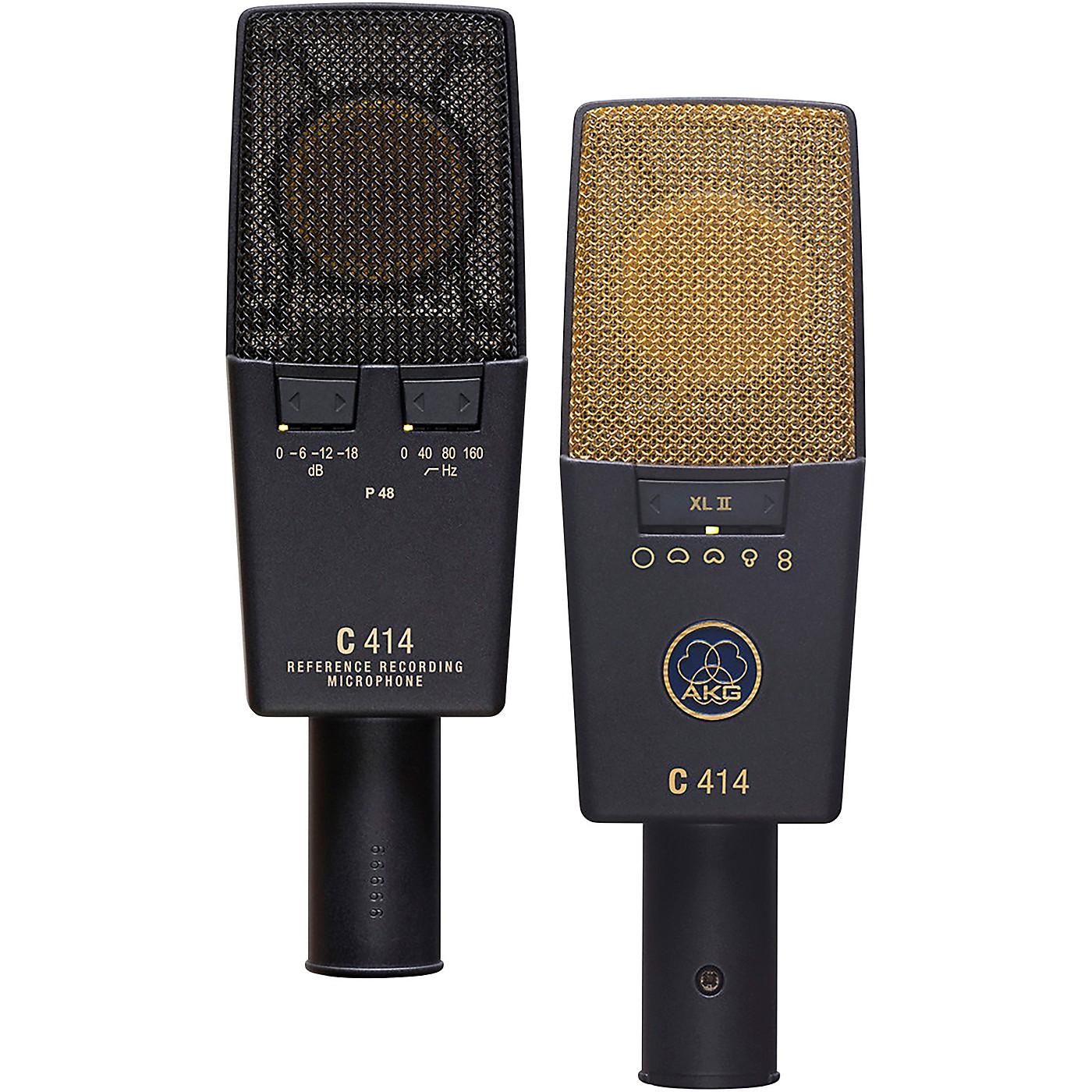 AKG C414 XLII/ST Matched Pair Microphone thumbnail