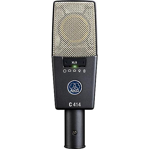 AKG C414 XLS Reference Multi-Pattern Condenser Microphone thumbnail