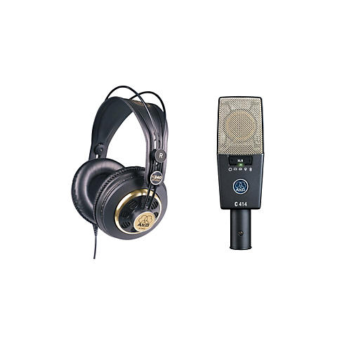 AKG C414 XLS and K240 Mic and Headphone Package thumbnail