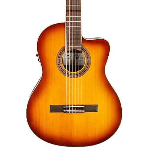 Cordoba C5-CE Classical Cutaway Acoustic-Electric Guitar thumbnail
