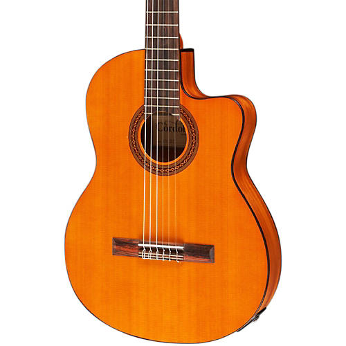 Cordoba C5-CET Classical Thinline Acoustic-Electric Guitar thumbnail