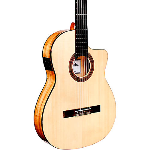 Cordoba C5-CET Thinbody Spalted Maple Nylon-String Acoustic-Electric Guitar thumbnail