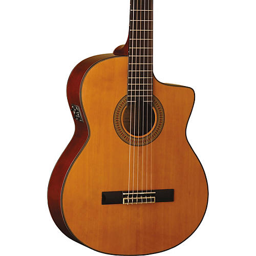Washburn C64SCE-A Classical Acoustic-Electric Guitar thumbnail