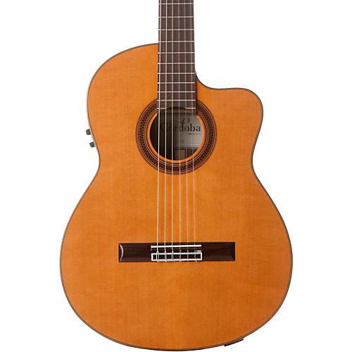 Cordoba C7-CE CD Acoustic-Electric Nylon String Classical Guitar thumbnail