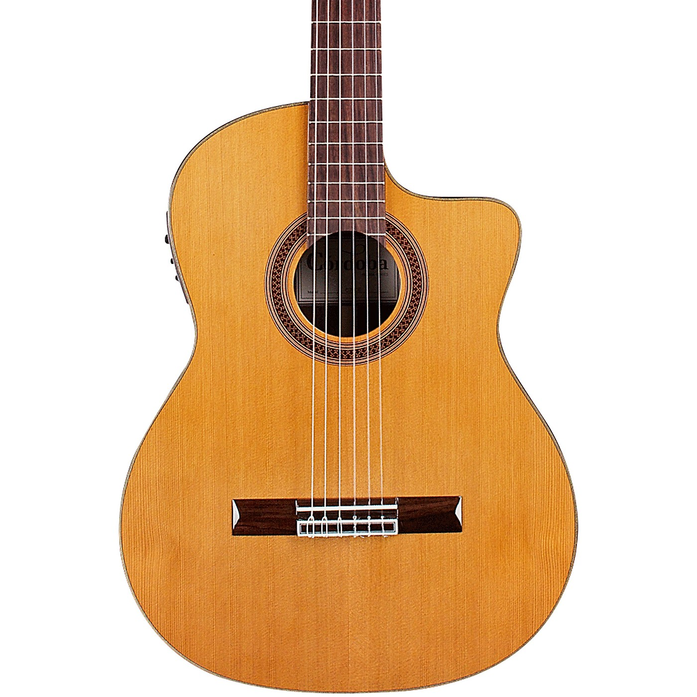 Cordoba C7-CE CD Classical Nylon Acoustic-Electric Guitar thumbnail