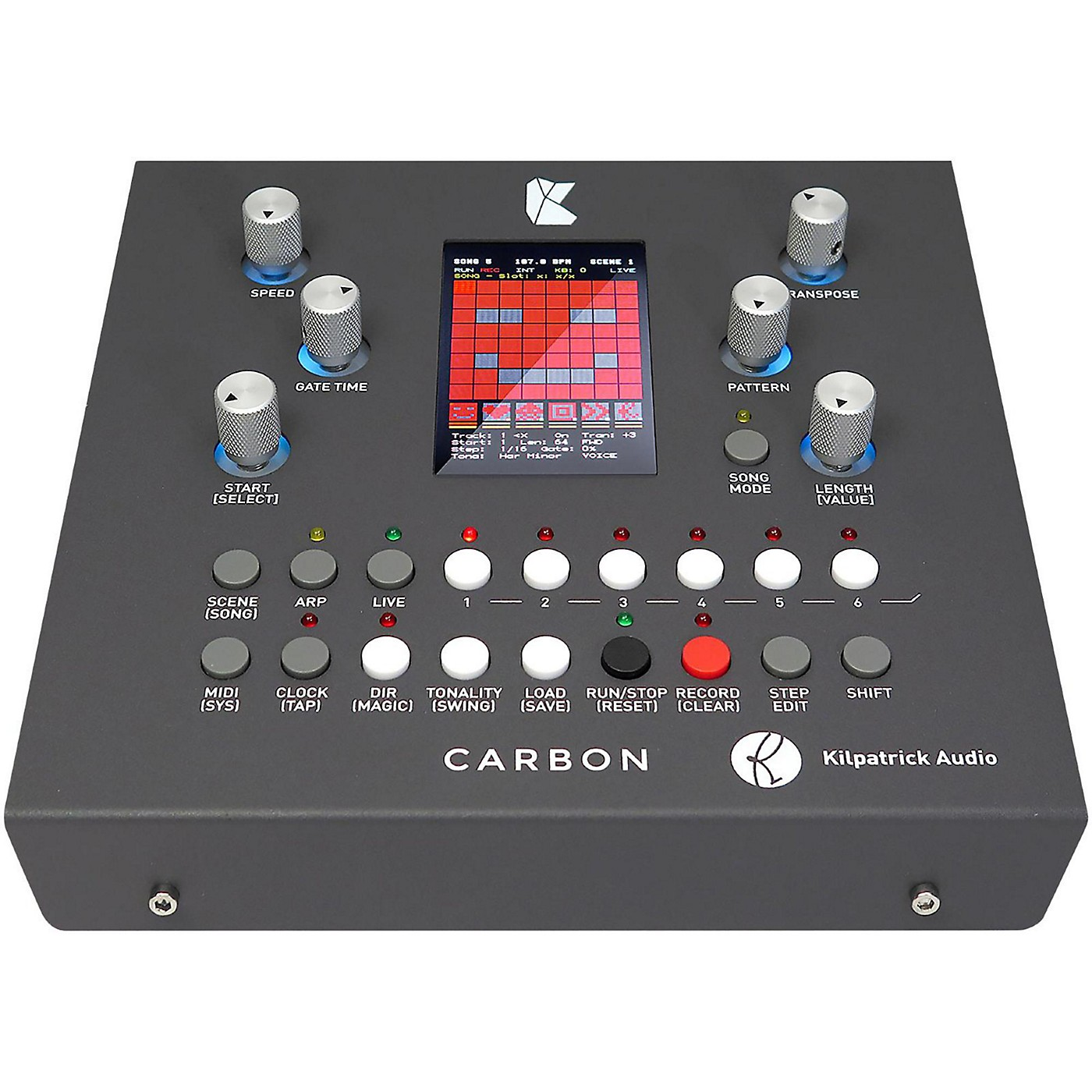 Kilpatrick Audio CARBON Sequencer and Performance System thumbnail