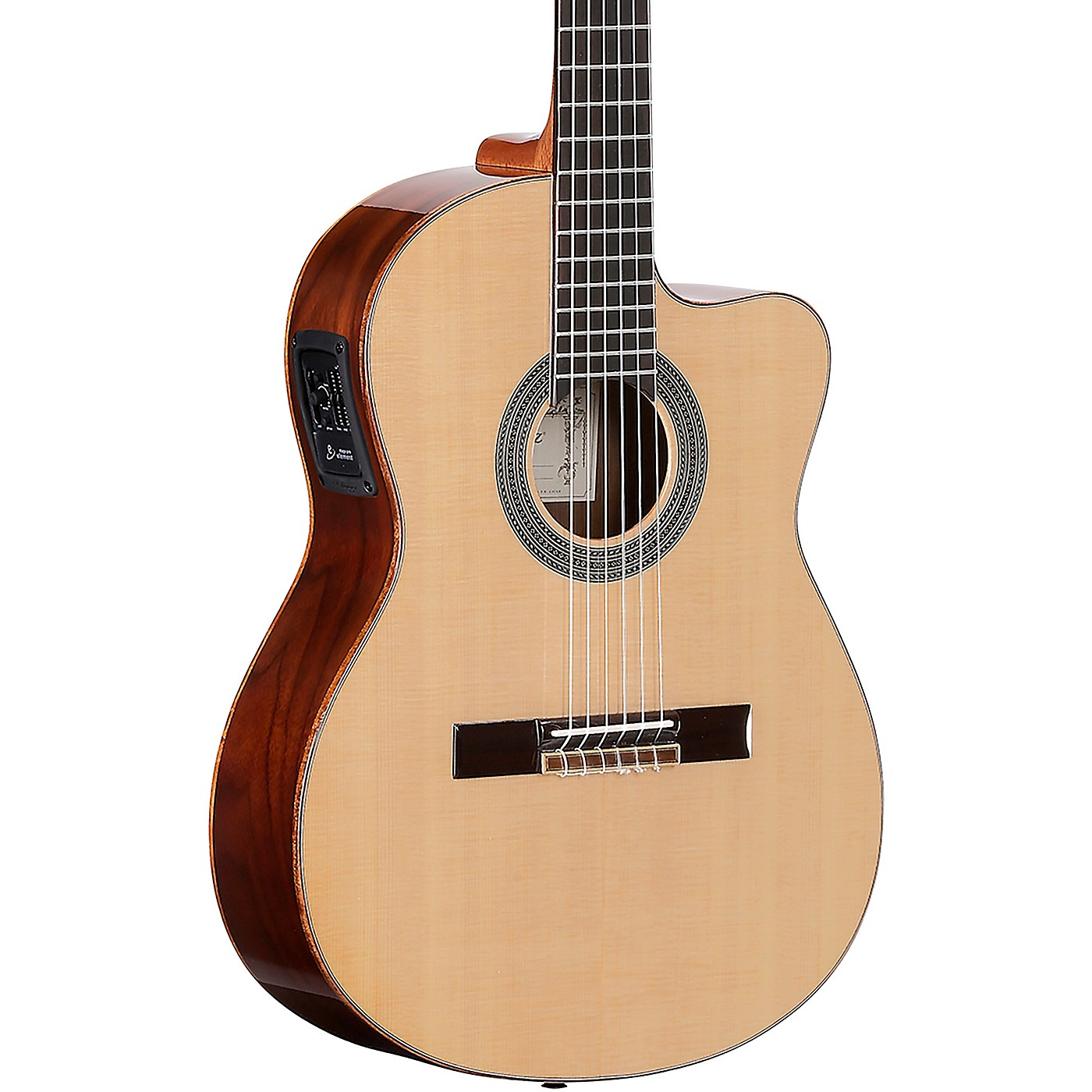 Alvarez CC7HCE CADIZ Series Nylon-String Acoustic-Electric Guitar thumbnail