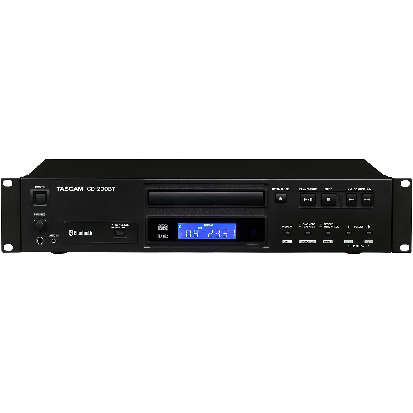 TASCAM CD-200BT Professional CD Player With Bluetooth Receiver thumbnail