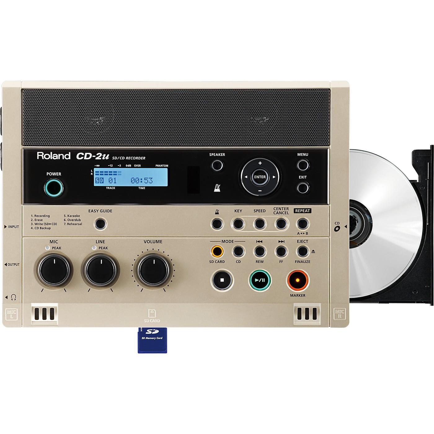 Roland CD-2u SD/CD Recorder thumbnail