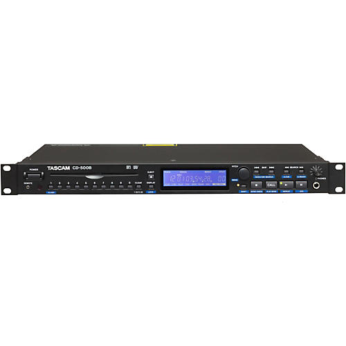 Tascam CD-500B Professional CD Player thumbnail