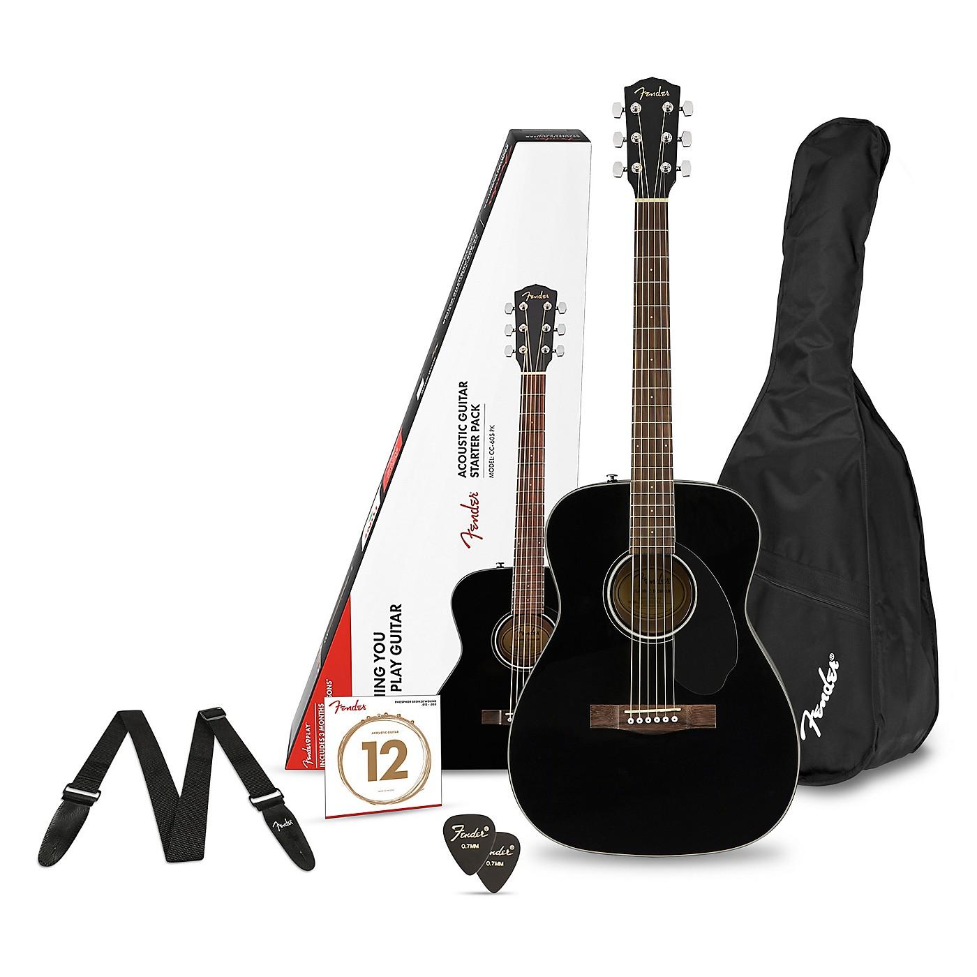 Fender CD-60S Concert Acoustic Guitar Pack thumbnail