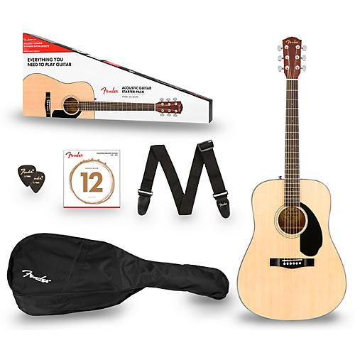 Fender CD-60S Dreadnought V2 Acoustic Guitar Pack thumbnail