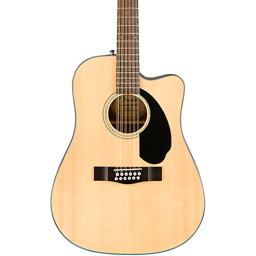 Fender CD-60SCE Dreadnought 12-String Acoustic-Electric Guitar thumbnail