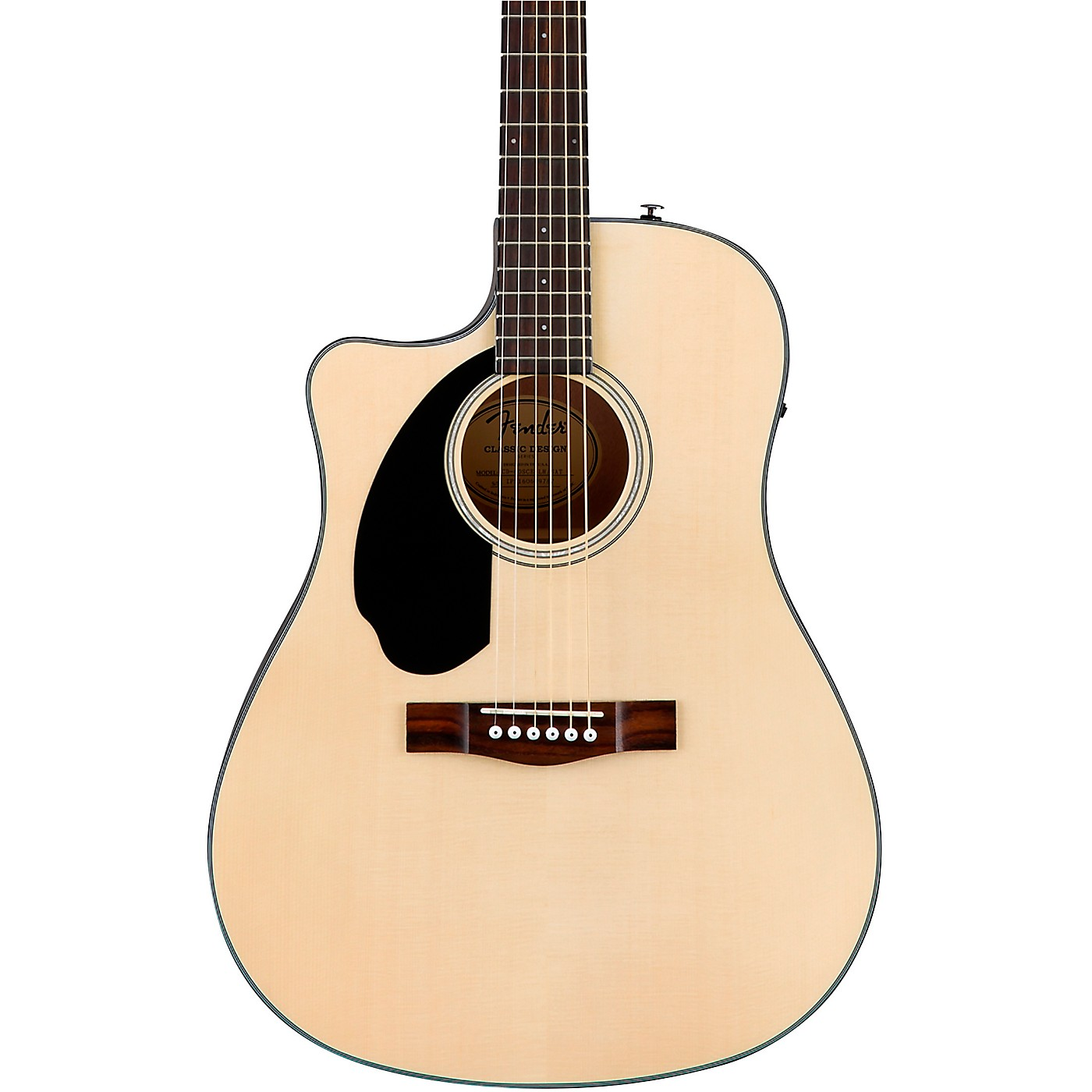 Fender CD-60SCE Dreadnought Left-Handed Acoustic-Electric Guitar thumbnail
