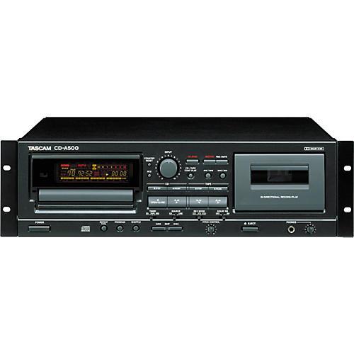Tascam CD-A500 Rackmount CD/Cassette Player thumbnail