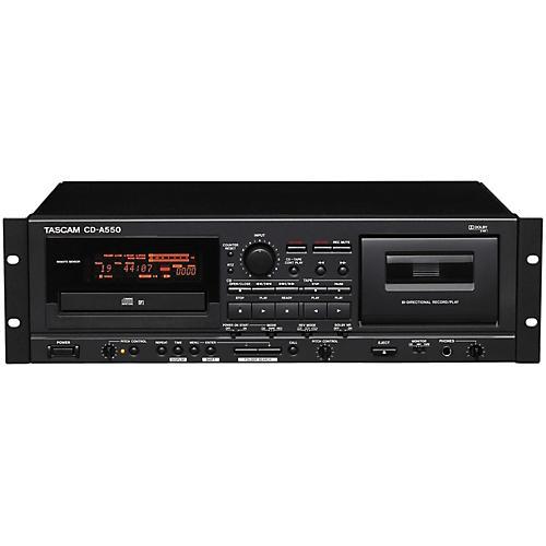 Tascam CD-A550 CD Player/Cassette Recorder thumbnail