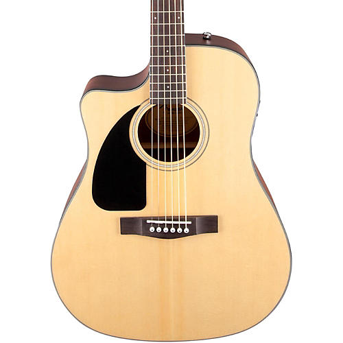 Fender CD100 CE Left-Handed Cutaway Acoustic-Electric Guitar thumbnail