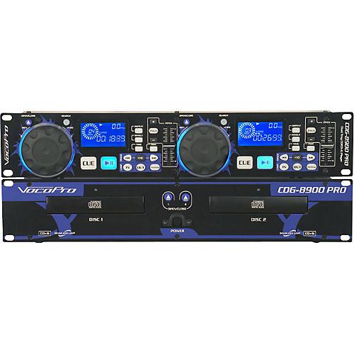 VocoPro CDG-8900 PRO Dual Tray CD/CD+G Player thumbnail