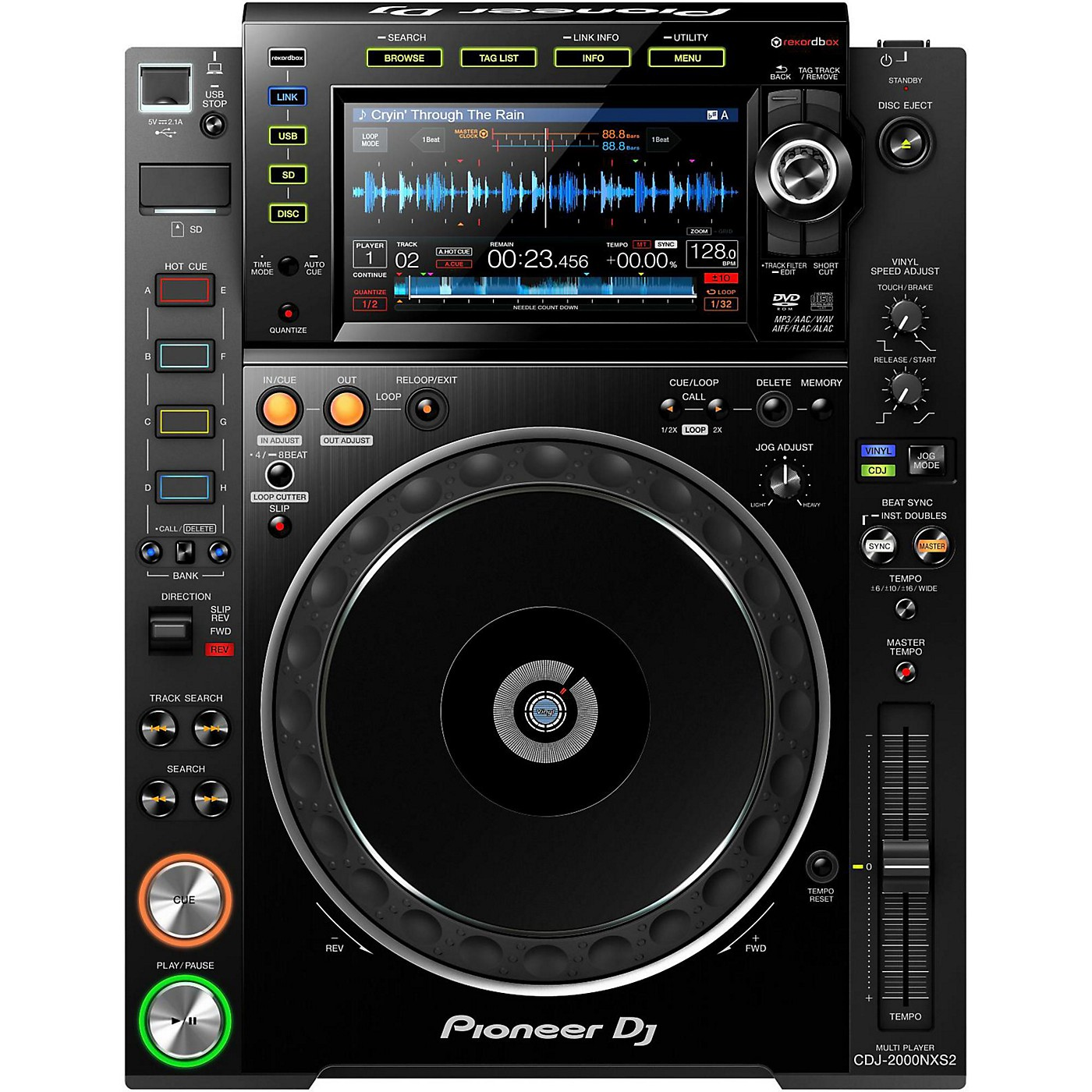 Pioneer CDJ-2000NXS2 Pro-DJ Multi-Player thumbnail