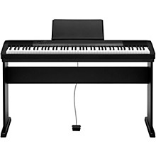 Casio CDP-135 88-Key Digital Piano with Wood Stand and Sustain Pedal