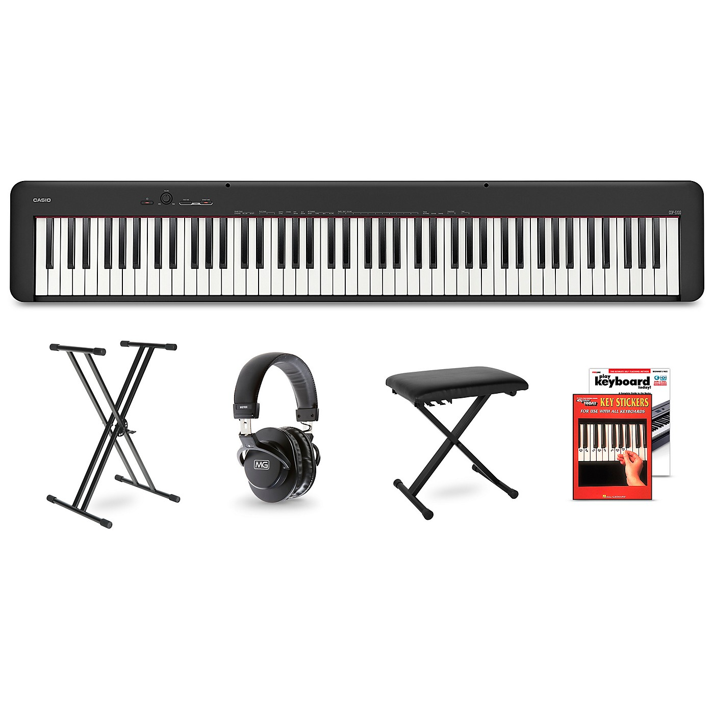 Casio CDP-S100 Digital Piano Package thumbnail