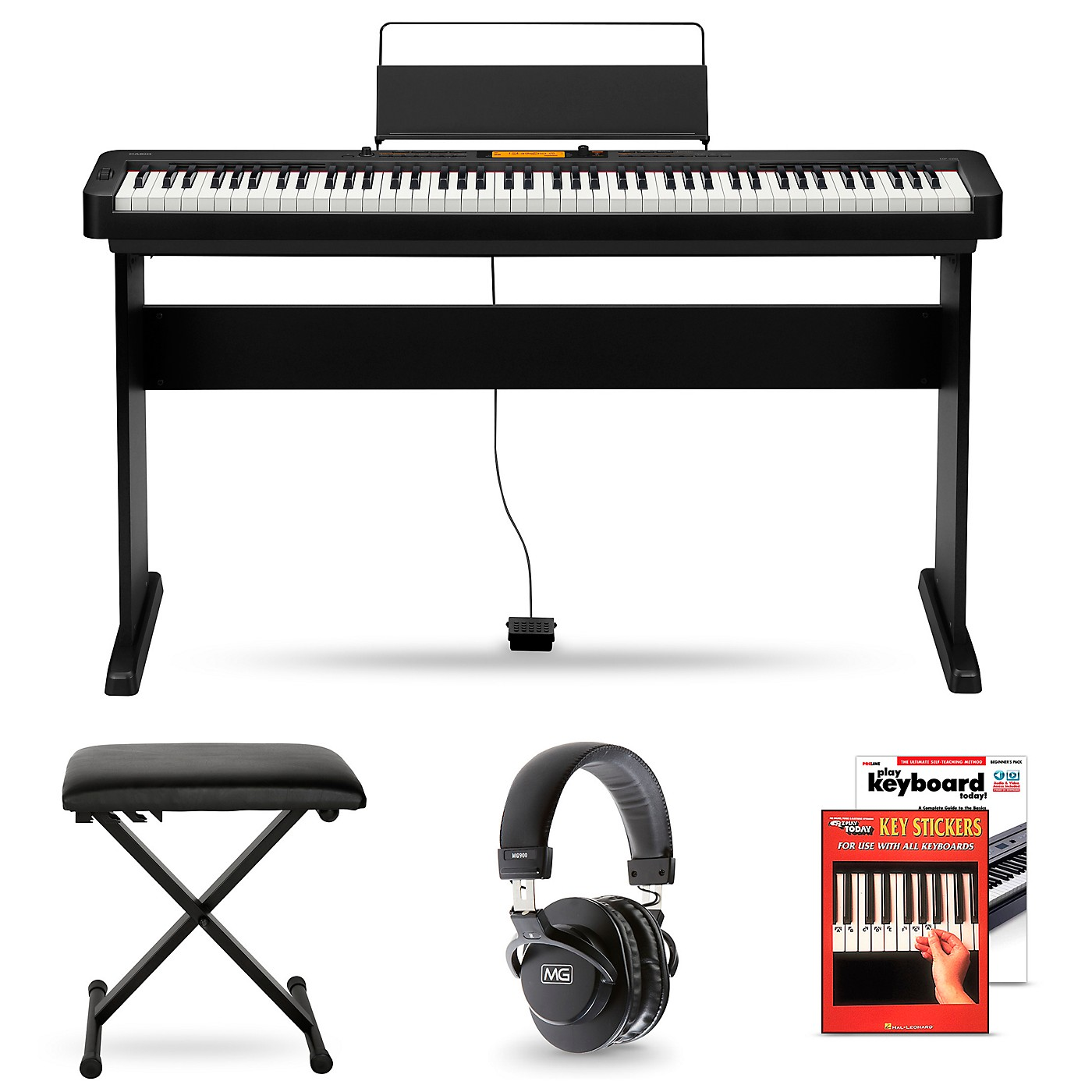 Casio CDP-S350CS Digital Piano and Matching Stand Package thumbnail
