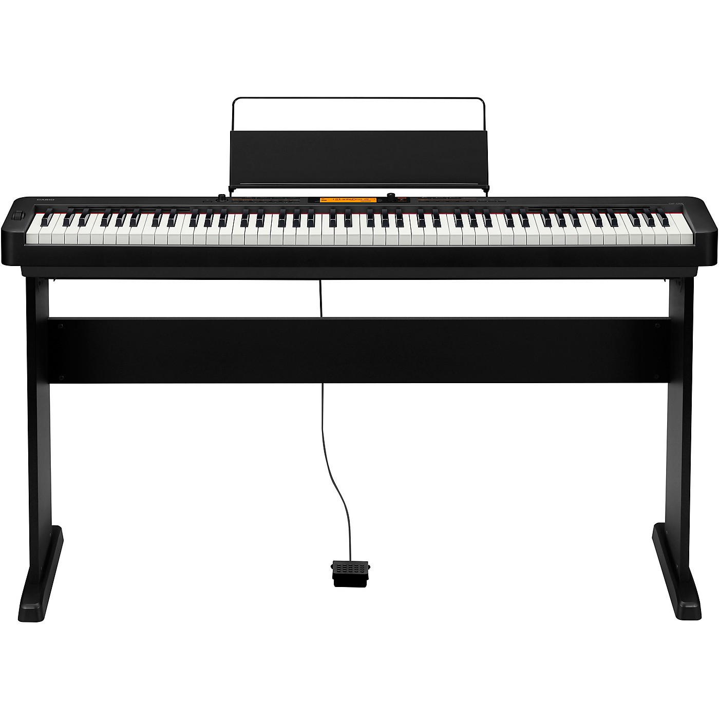 Casio CDP-S350CS Digital Piano with Wooden Stand Black thumbnail