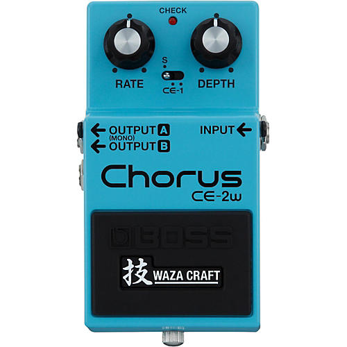 Boss CE-2W Chorus Waza Craft Guitar Effects Pedal thumbnail