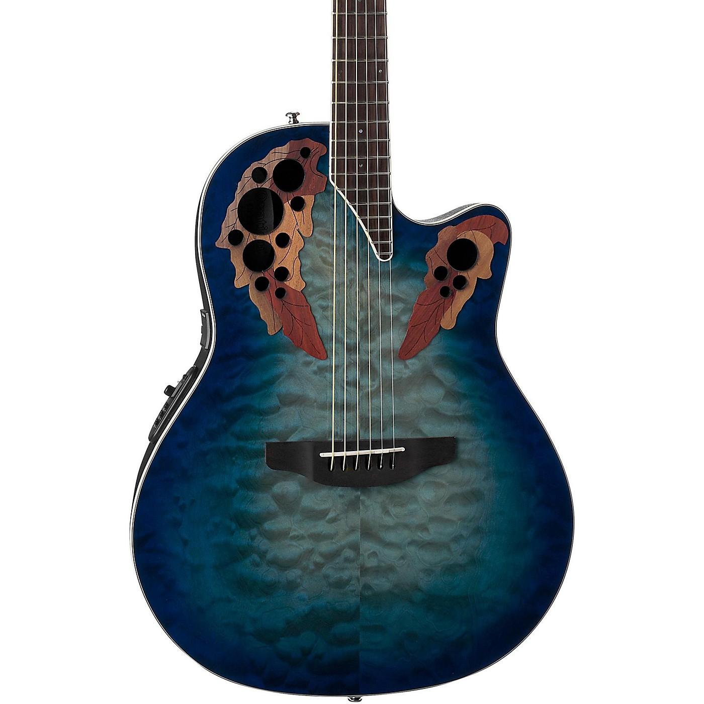 Ovation CE48P Celebrity Elite Plus Acoustic-Electric Guitar thumbnail