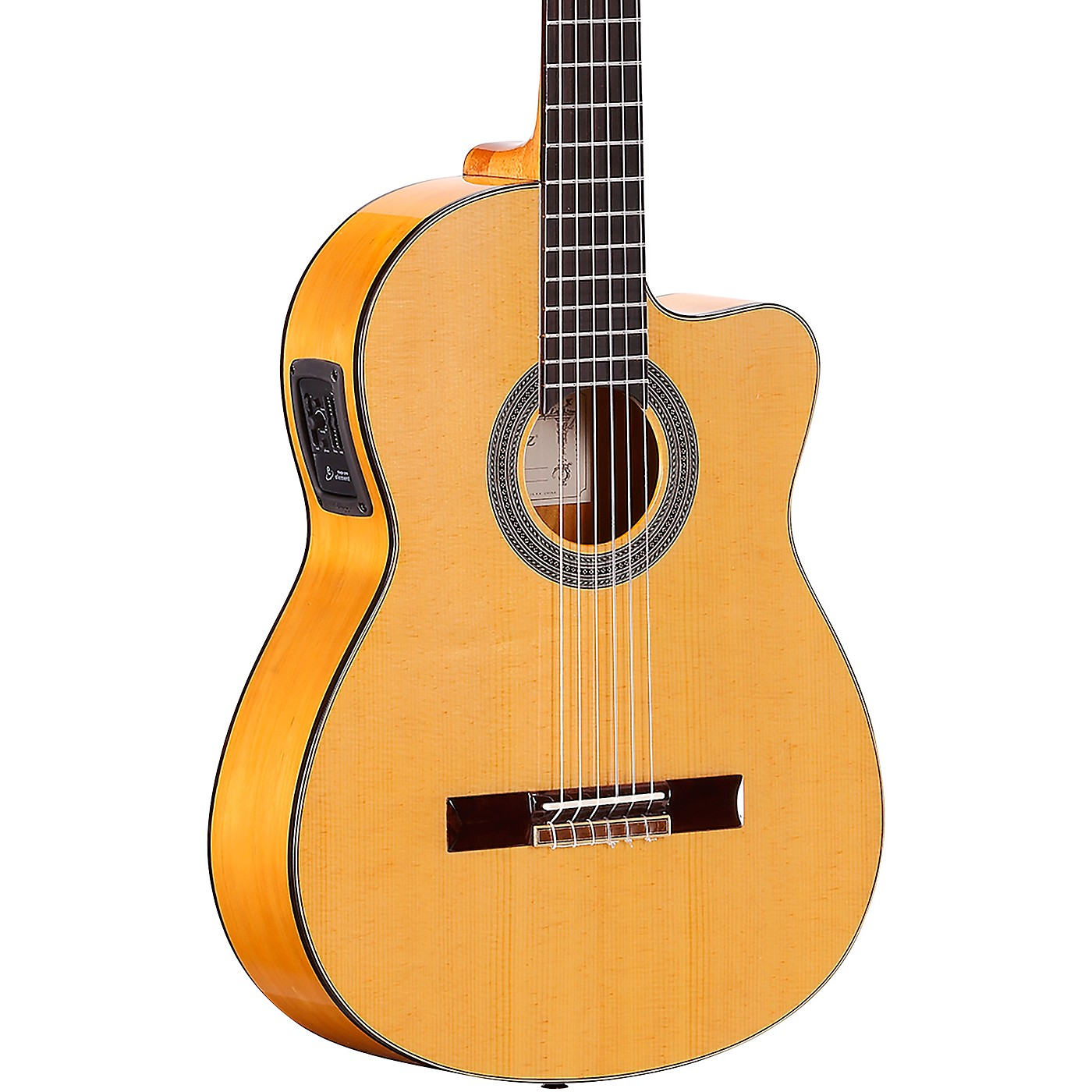 Alvarez CF6CE CADIZ Series Nylon-String Acoustic-Electric Guitar thumbnail