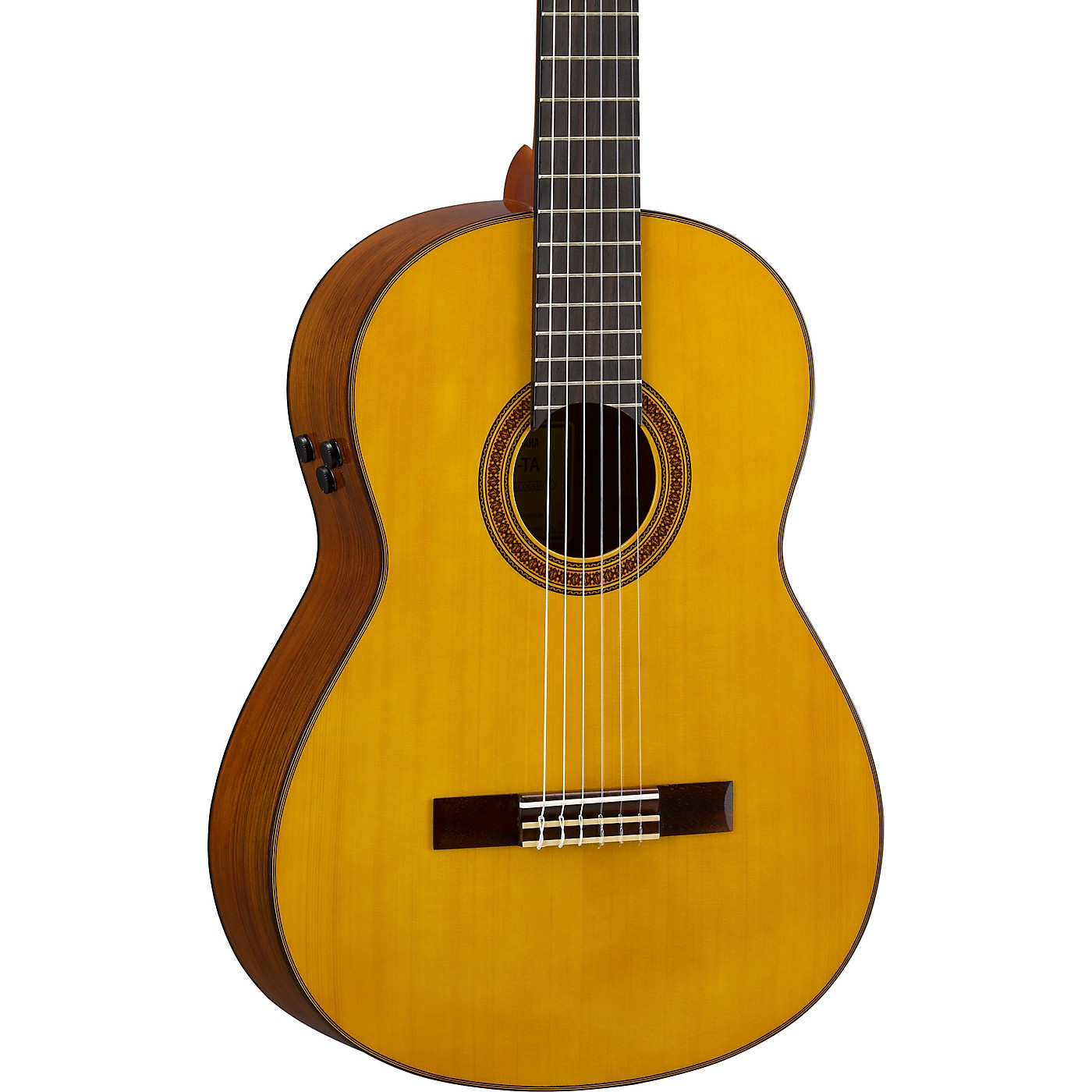 Yamaha CG-TA TransAcoustic Nylon-String Acoustic-Electric Guitar thumbnail