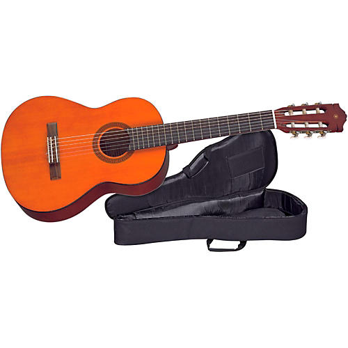 Yamaha CGS Student 1/2-Size Classical Guitar with Nylon Case thumbnail